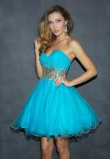 2014 Strapless Night Moves Prom Dress 6820