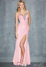 2014 Night Moves Two Straps Prom Dress 7008