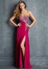 2014 Night Moves Sexy Long Prom Dress 7059