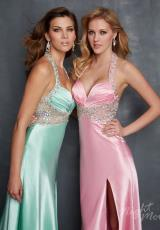 2014 Night Moves Beaded Prom Dress 7066