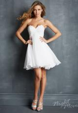 2014 Night Moves Strapless Prom Dress 7068