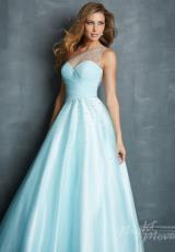 2014 Night Moves Sheer Strap Prom Dress 7085