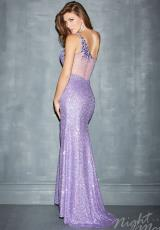 2014 Night Moves One Strap Prom Dress 7092