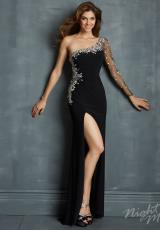 2014 Night Moves Jersey Prom Dress 7099