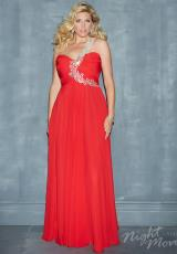 2014 Night Moves One Strap Prom Dress 7121W