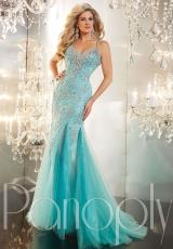 2014 Panoply Two Straps Prom Dress 44228