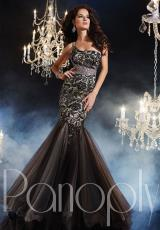 Panoply 44236.  Available in Black/Nude, Red/Nude, Teal/Nude