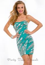 2013 Fitted Strapless Party Time Homecoming Dress 6333