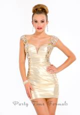 6393 Short Party Time Homecoming Dress 2013