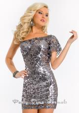 Party Time Dresses 6397.  Available in Fuchsia, Gunmetal, Midnight Blue