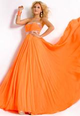 Party Time Dresses 6018.  Available in Aqua Blue, Neon Orange