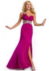 2013 Party Time Gorgeous One Strap Gown 6109