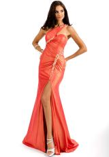 Party Time Dresses 6140.  Available in Blueberry, Tangerine