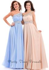 Party Time Dresses 6439.  Available in Nude, Sky Blue, Watermelon