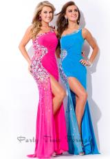 Party Time Dresses 6472.  Available in Lipstick, Ocean