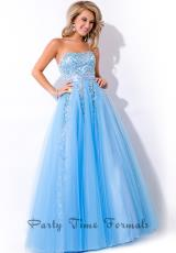 2014 Party Time A Line Dress 6478