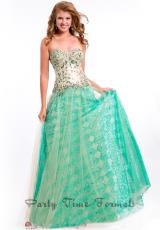 Party Time Dresses 6504.  Available in Aqua, Emerald, Nude, Royal