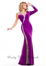 Party Time Dresses 6518.  Available in Lime, Plum