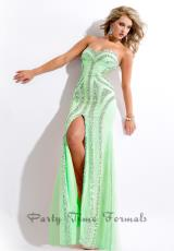 2014 Party Time Fitted Silhouette Dress 6527