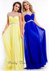 Party Time Formals 6555.  Available in Aqua, Black, Coral, Lemon, Red, Royal, Sky Blue, White