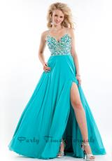 2014 Party Time Beaded Bodice Dress 6558