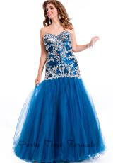 2014 Party Time Taffeta Dress 6581