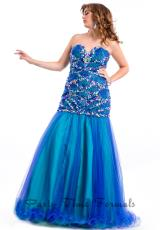 2014 Party Time Fitted Bodice Dress 6590