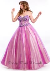 2014 Party Time Ball Gown Dress 6607