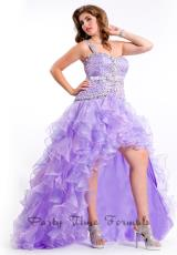 2014 Party Time High Low Dress 6610