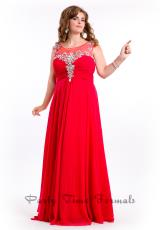 2014 Party Time High Neckline Dress 6626