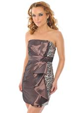 Precious Formals H50038.  Available in Chocolate, Purple Perfection