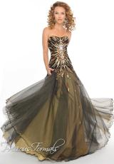 Precious Formals O55162.  Available in Black/Gold, Blue/Silver