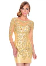 Precious Formals L55208.  Available in Light Gold, White