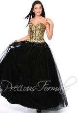 Precious Formals Corset Top Prom Dress O21021