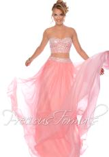 Precious Formals P21043.  Available in Purple Paradise, Rose Pink, Tangelo