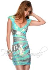 Precious Formals P9013.  Available in Lilac/Silver, New Mint/Silver
