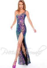 Precious Formals P9033.  Available in Crystal Midnight Blue, Crystal Nude