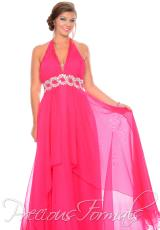 Precious Formals W10527.  Available in Fuchsia, Sky Blue