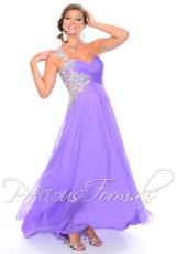 Precious Formals W10541.  Available in Frosty Meadow, Lavender