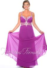 Precious Formals W55274.  Available in Purple