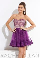 Rachel Allan Princess 2797.  Available in Black/Nude, Purple/Nude