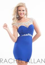 Rachel Allan 6642.  Available in Purple, Red, Royal