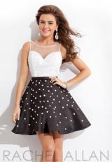 2014 Rachel Allan Sequins Bodice Homecoming Dress 6648