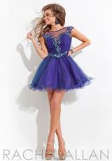 2014 Rachel Allan Fitted Bodice Homecoming Dress 6662
