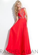 Rachel Allan 6842.  Available in Black, Jade, Red, Royal, Soft Pink