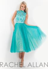Rachel Allan 6861.  Available in Aqua Green/Nude, White/Pink, White/Sky Blue