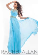 Rachel Allan 6886.  Available in Magenta/Mint, Sky Blue/Mint, White/Mint