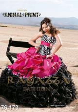 2014 Ragazza Zebra Print Quinceanera Dress 76-173