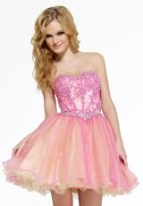 2014 Riva Lace Bodice Prom Dress L984