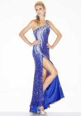 2013 Fitted Long Riva Prom Dress R9602